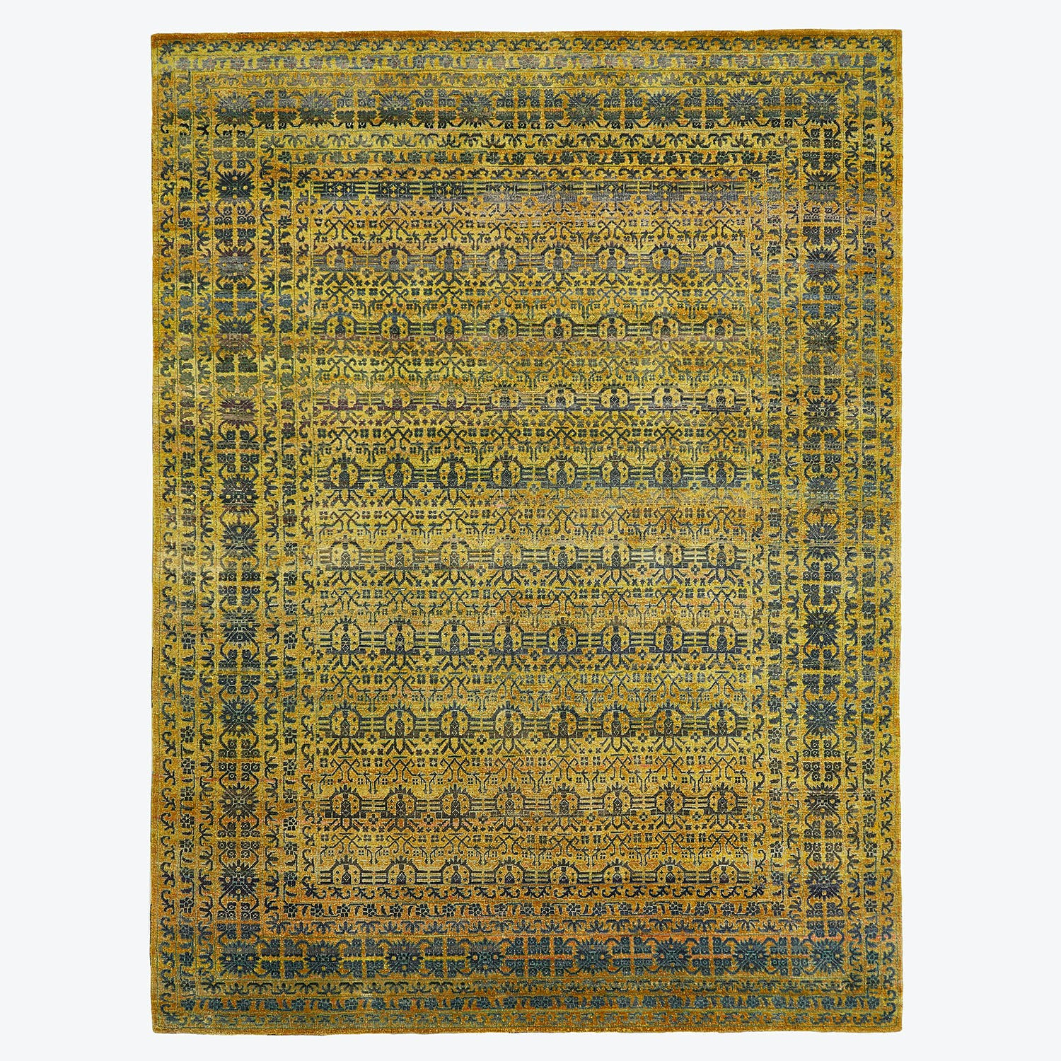 "Alchemy Wool & Silk Rug 9'1""x12'2"""