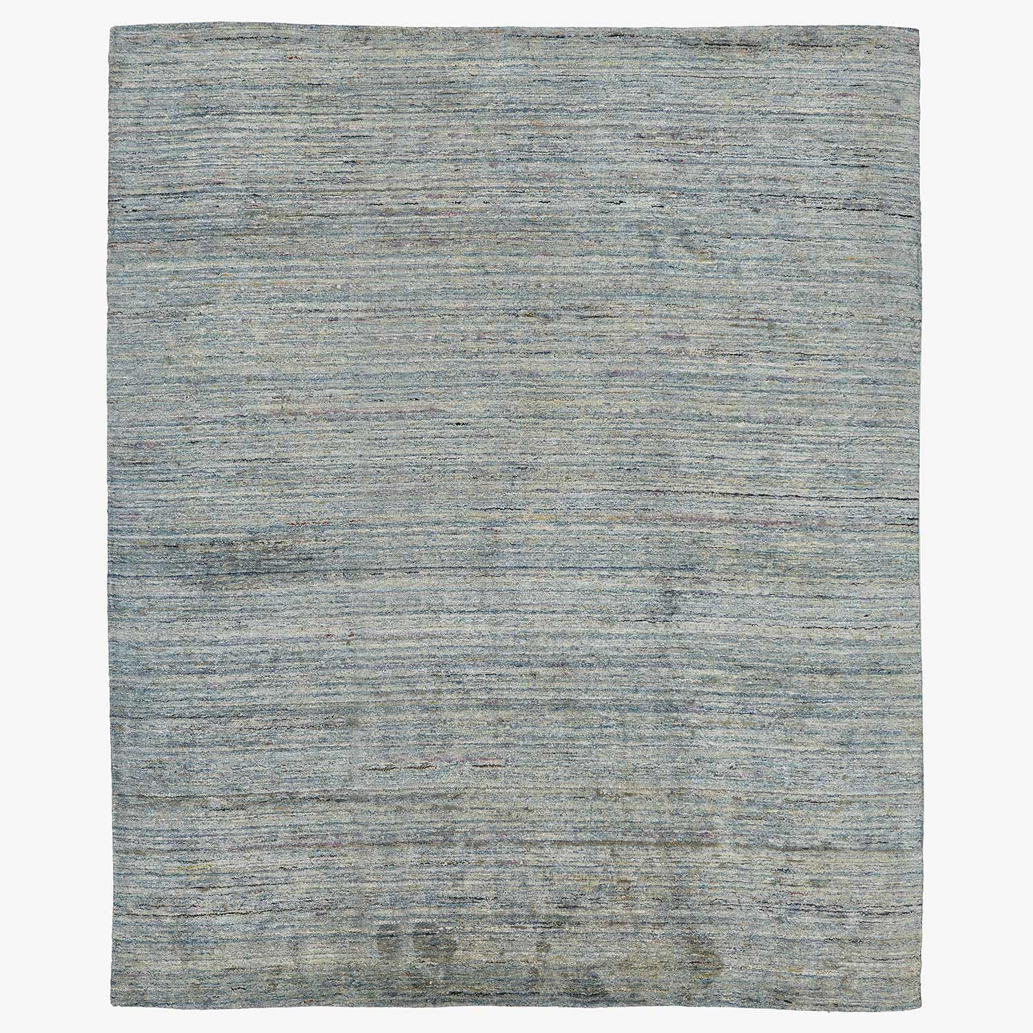 "Product Image - Solid Recycled Silk Rug - 7'11""x9'8"""