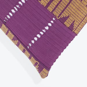 Product Image - Mfumi Pillow Purple + Tan