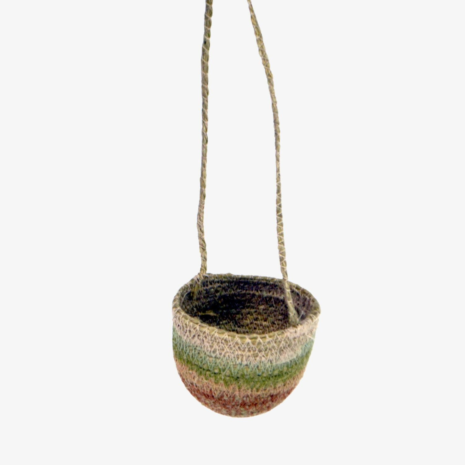 Desert Flower Mini Hanging Planter