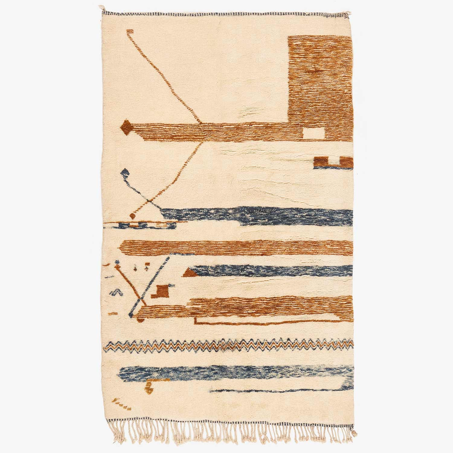 "Product Image - Moroccan Berber Rug - 6'5""x10'10"""