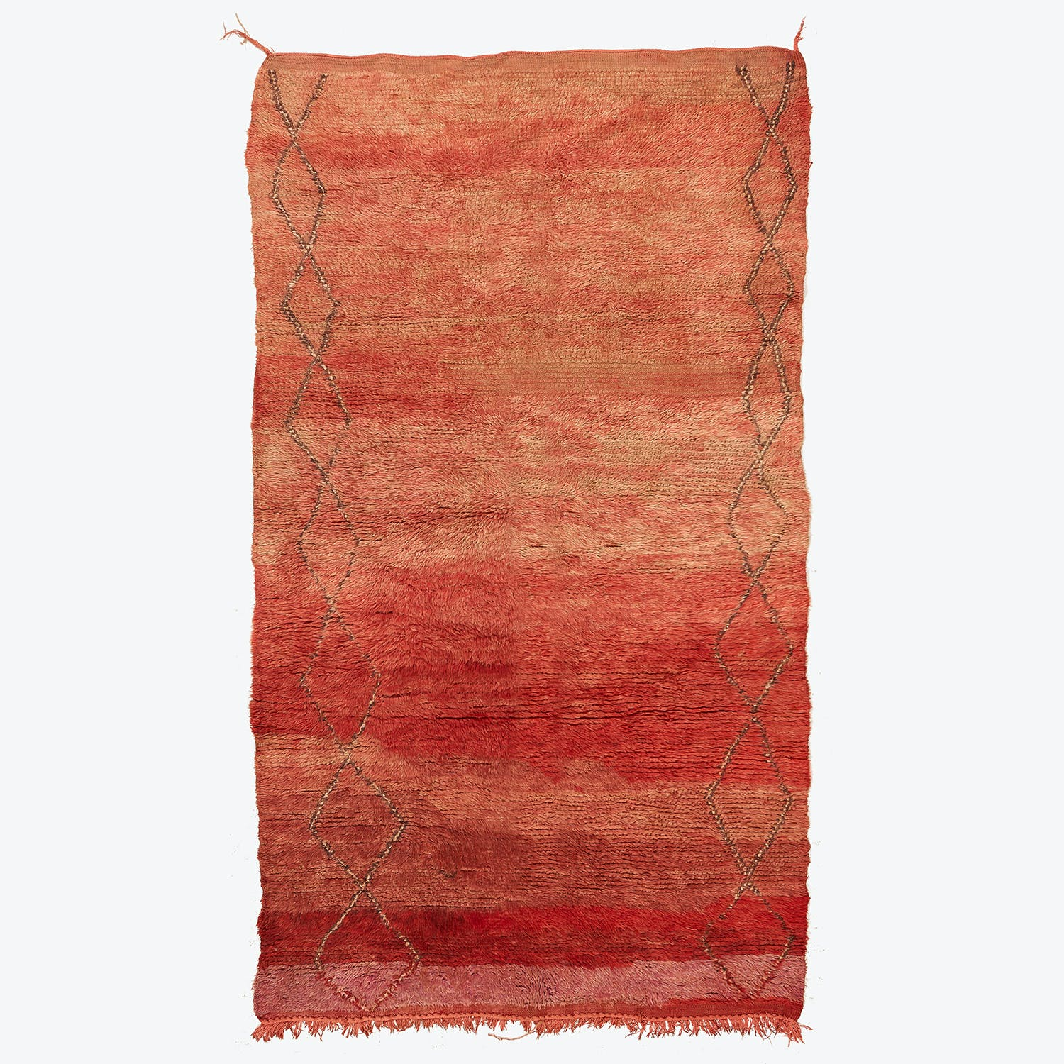 Product Image - Vintage Moroccan Rug - 5'x9'1""