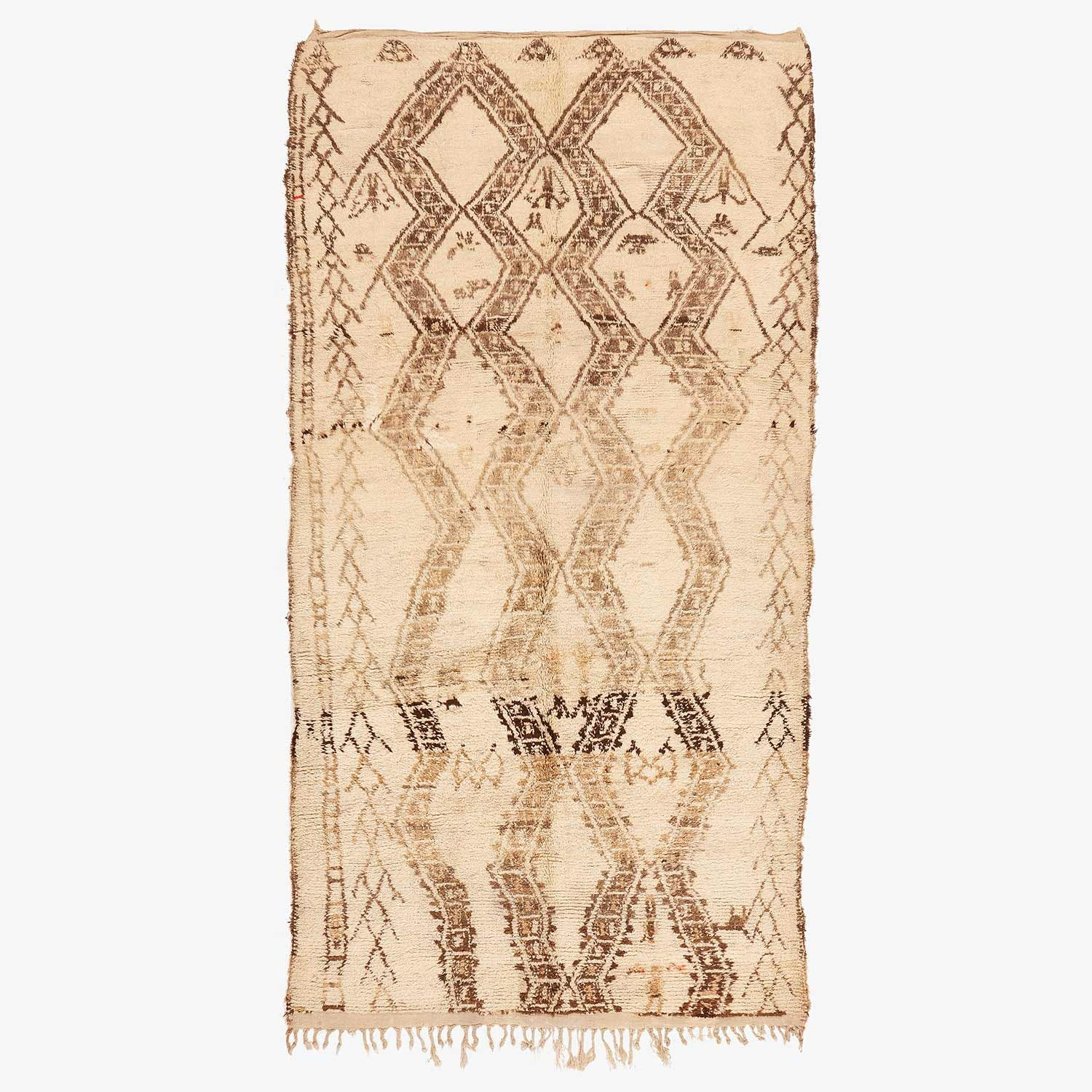 Product Image - Vintage Moroccan Rug - 6'x11'9""