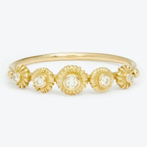 Product Image - Diamond Small Appoline Ring