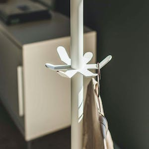 Product Image - Tower 2-Tier Coat & Hat Rack White
