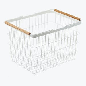 Product Image - Tosca Small Laundry Basket White
