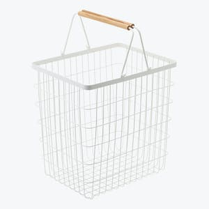 Product Image - Tosca Large Laundry Basket White