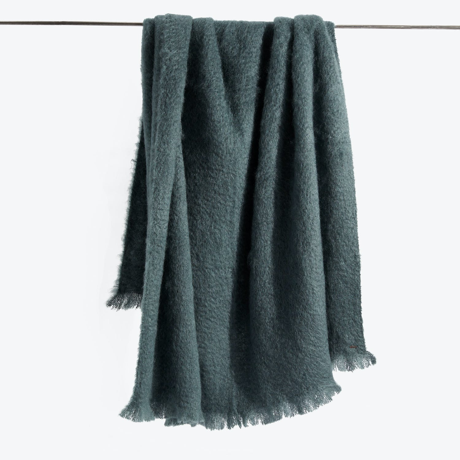 Mohair Throw Forest