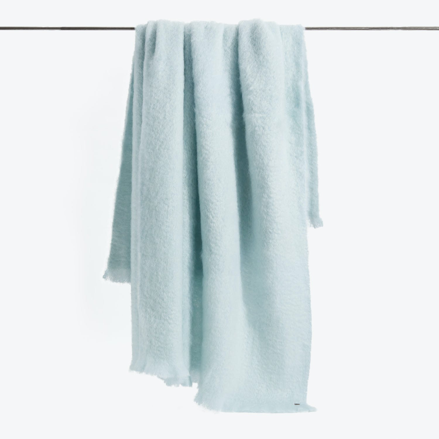 Mohair Throw Mist