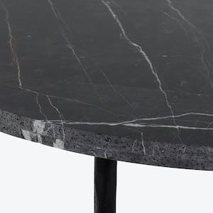 Product Image - Black Marble Dining Table