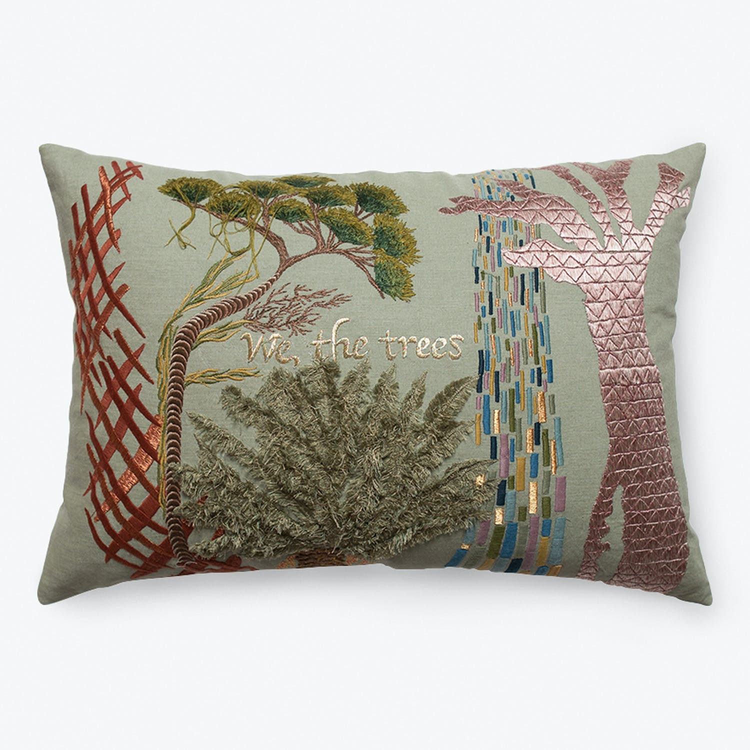 We The Trees Pillow