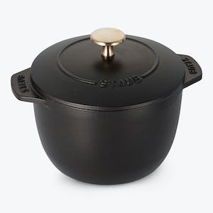 Product Image - Petite 1.5 qt French Oven Matte Black