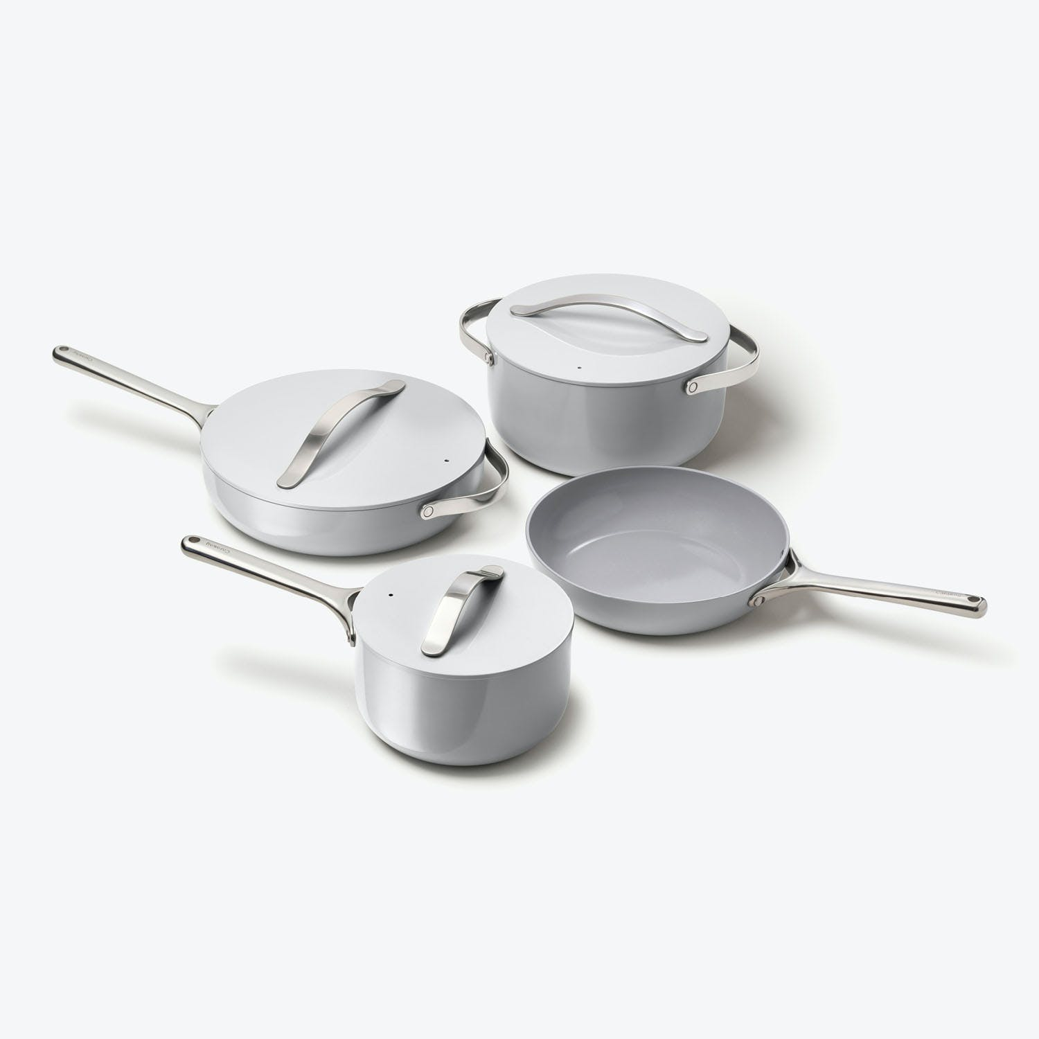 Non-Toxic Cookware Set Grey