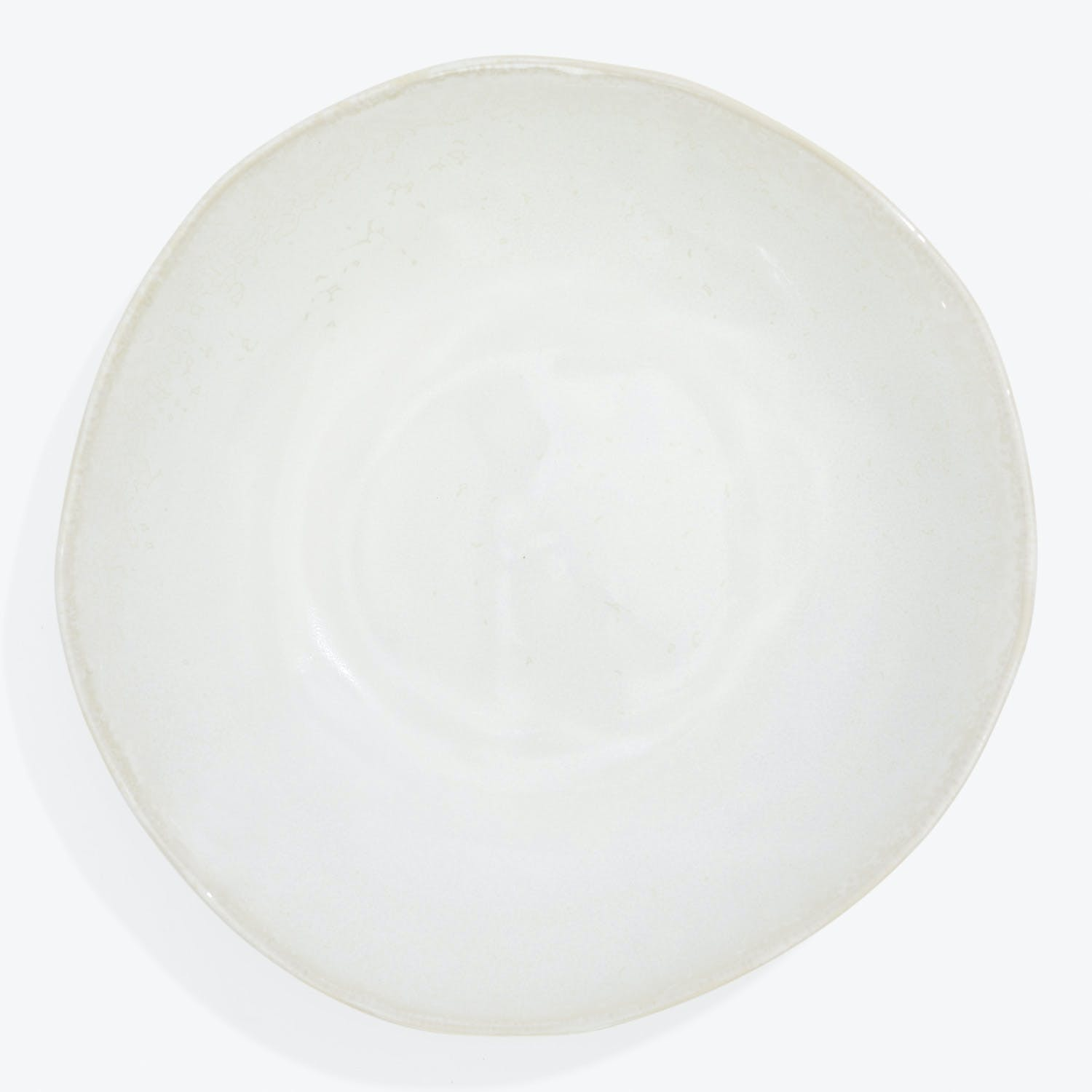 abcV Serving Bowl White