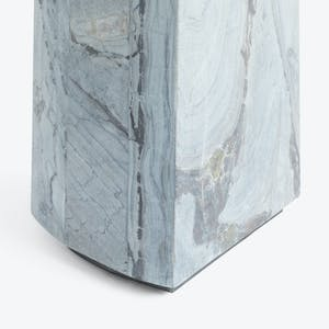 Product Image - Marble Side Table Blue
