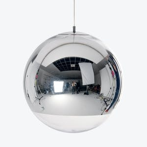 Product Image - Large Mirrored Ball Pendant