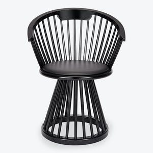 Product Image - Fan Dining Chair Black