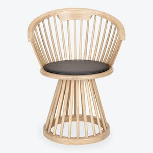 Product Image - Fan Dining Chair Natural