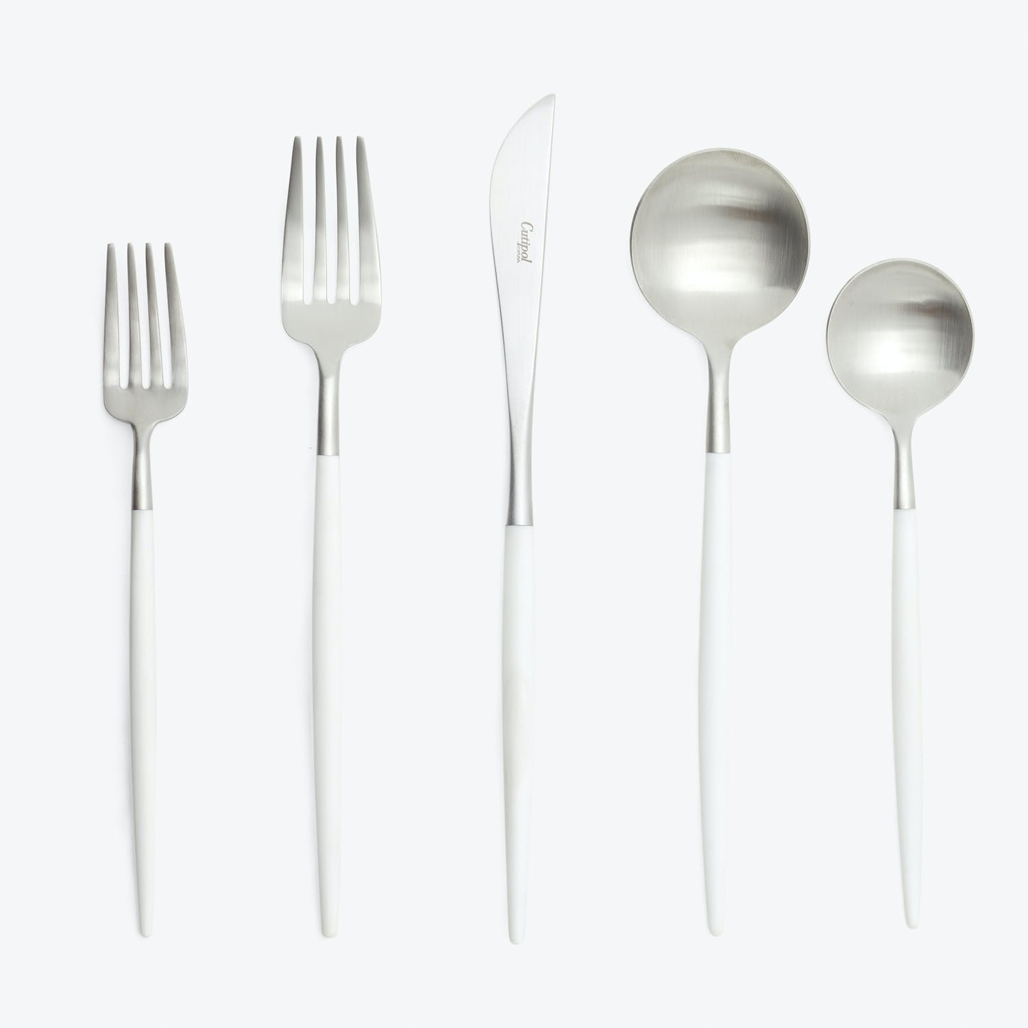 Product Image -  5-Piece Flatware Set Goa White
