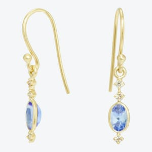 Product Image - Tanzanite Binode Earrings