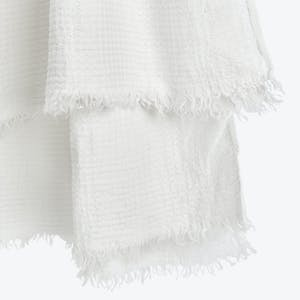 Product Image - Simple Linen Throw White