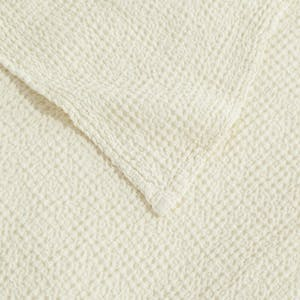 Product Image - Simple Lightweight Blanket Ivory
