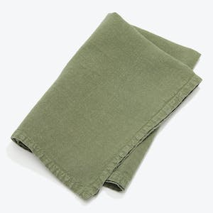 Product Image - Simple Linen Napkin Set of 4 Olive