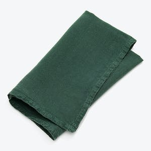 Product Image - Simple Linen Napkin Set of 4 Pine