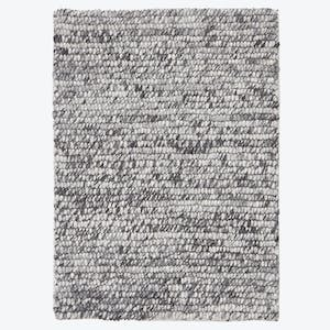 Product Image - Essentials Textured Rug Gray