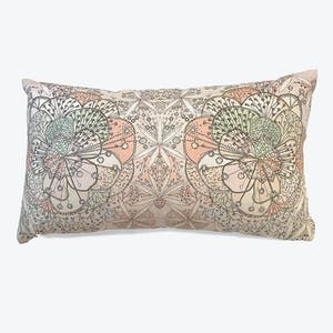Product Image - Bloomful Journey Linen Pillow Wisteria/Celedon