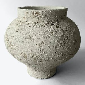 Product Image - Clay Earth Sculpture White
