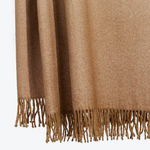 Product Image - Dip Dyed Throw Camel