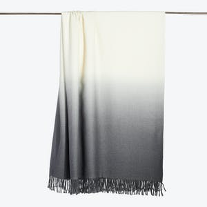 Product Image - Dip Dyed Throw Pewter