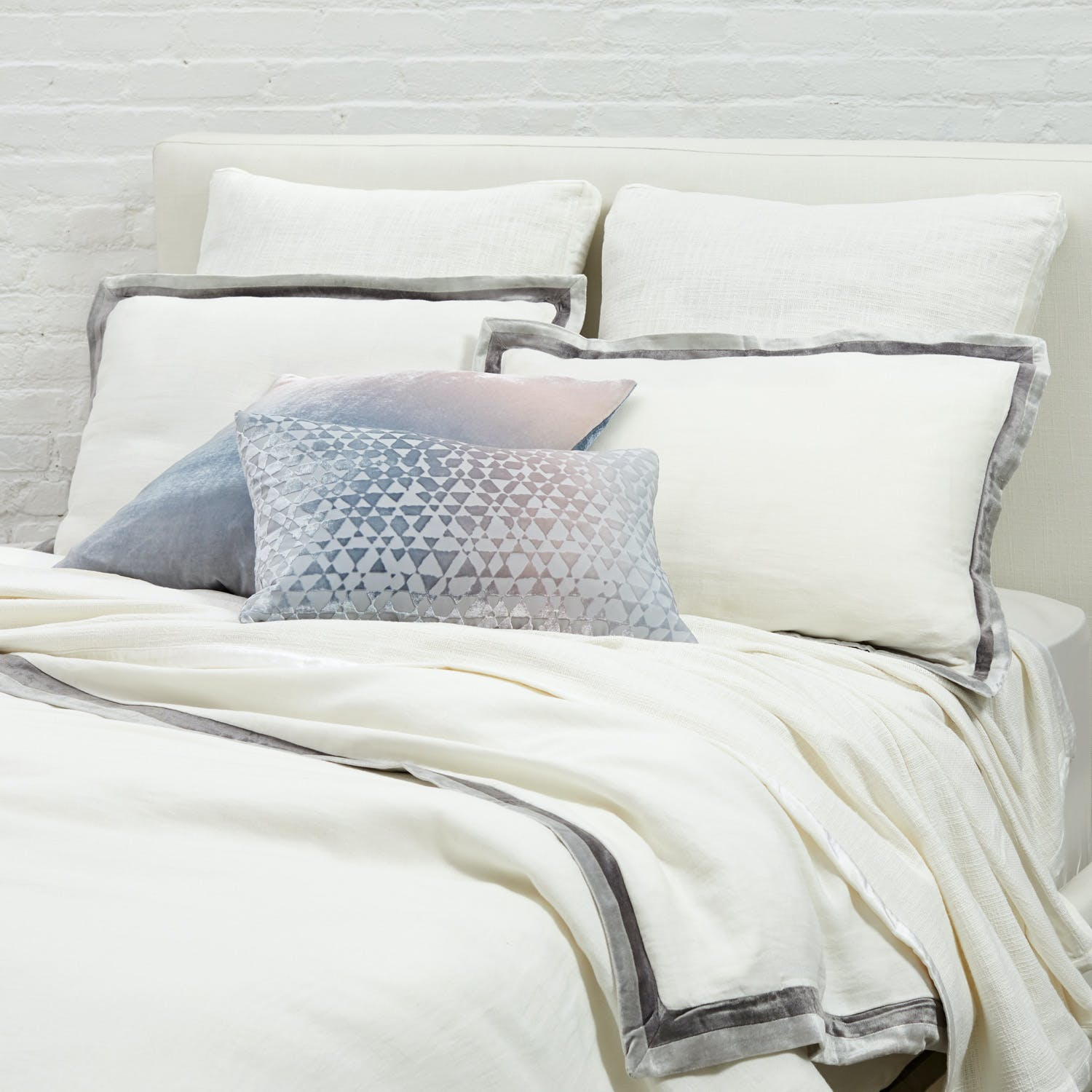 Kevin O'Brien Chunky Woven Coverlet