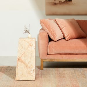 Product Image - Marble Side Table Blush