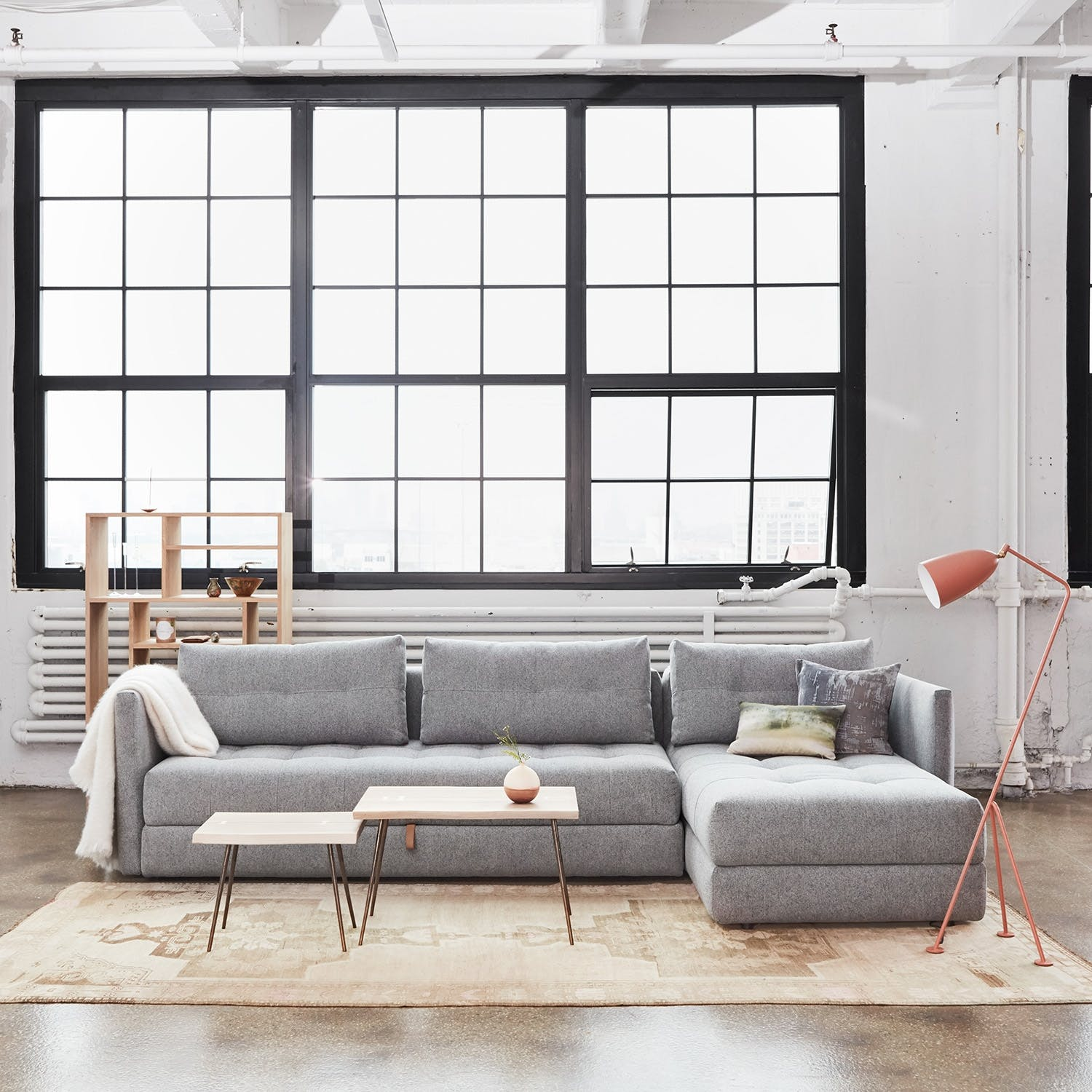 Crashpad Storage Daybed Sectional